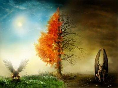dualidad del bien y el mal