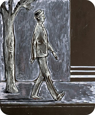 El hombre del traje gris