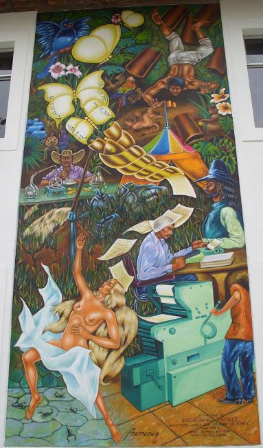 biblio del cente mural completo grande 1 SS850007