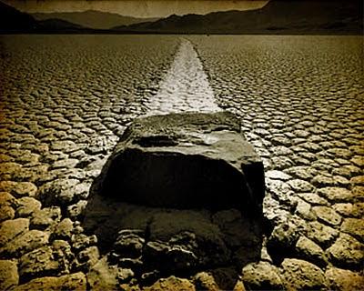 Piedras que se mueven